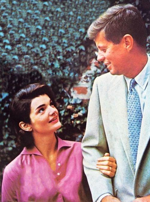 JFK and JBK. ~ I believe she adored him <3