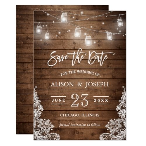 Best 25+ Rustic wedding invitations ideas only on Pinterest ...