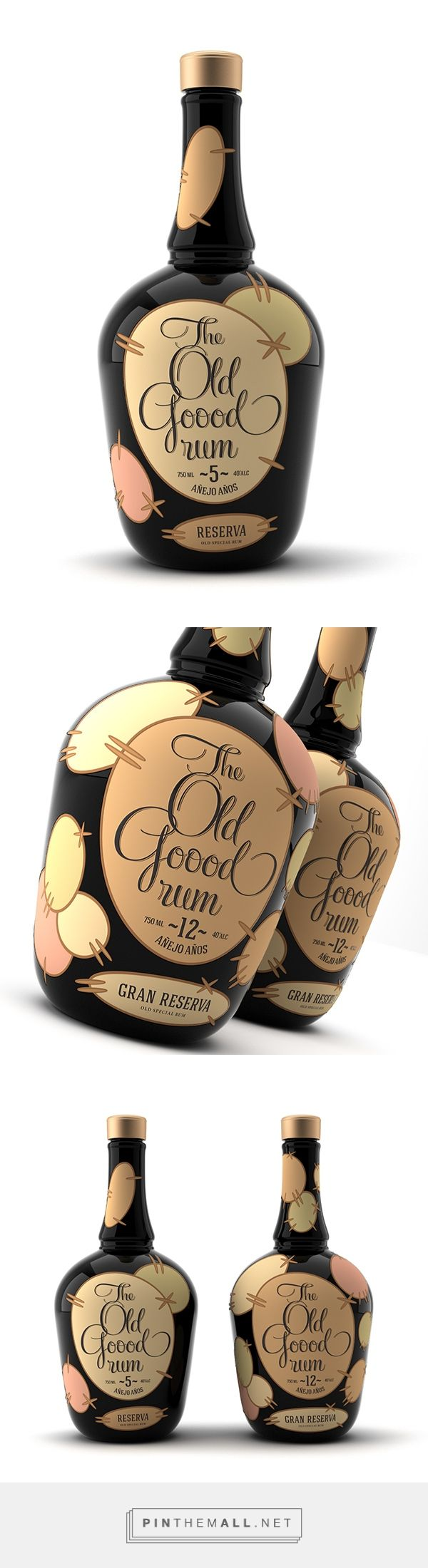 The Old Good Rum Packaging by Pavel Kulinsky | Fivestar Branding Agency – Design and Branding Agency & Curated Inspiration Gallery