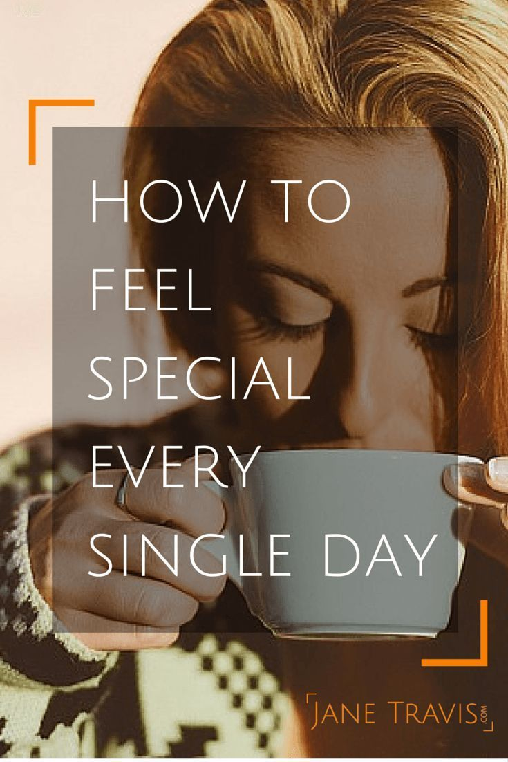 Self Esteem Tips: If you want to feel better, here is a simple, effective way to feel special every day