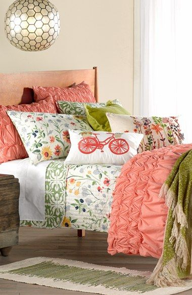 This floral bedding couldn't be more perfect for spring.