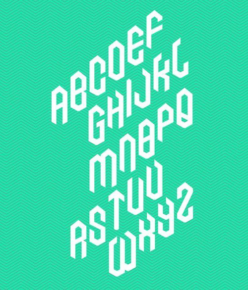 this typeface reminds me of an old acl lettering, and i like the way it's at an angle.