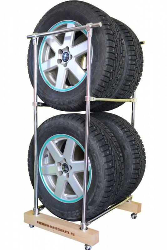 Стеллаж для хранения колес своими руками