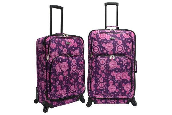 U.S. Traveler Fashion 2-Piece Spinner Luggage Set US7401L | Luggage Pros