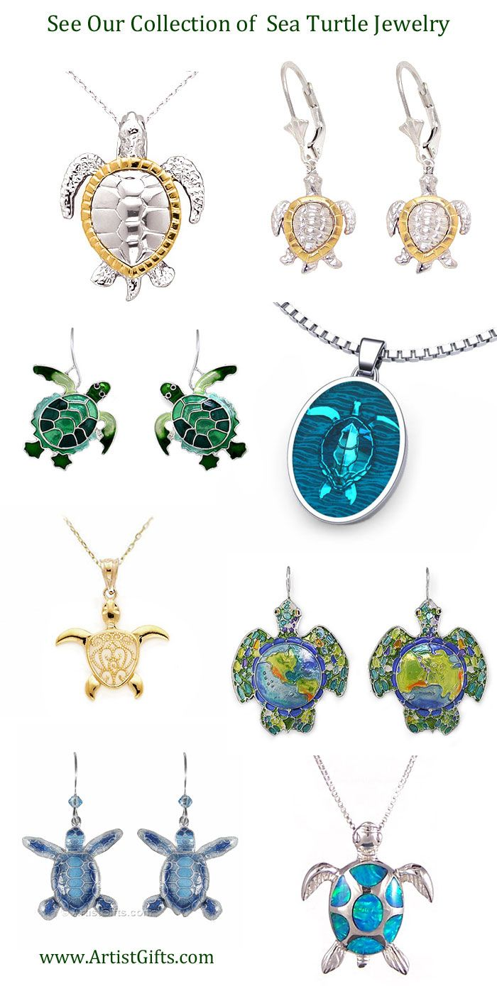 Free Us Shipping On Our Sea Turtle Jewelry In A Variety Of Styles! Sea  Turtle
