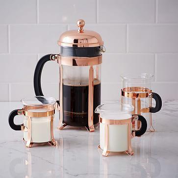 Bodum Copper Coffee Collection