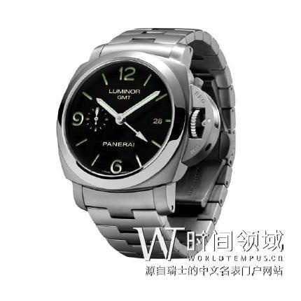 Luminor 1950 3 Days GTM Automatic 44mm Steel Bracelet