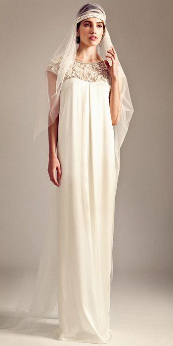 Temperley Bridal - Temperley Bridal Fall 2014 Wedding Dresses - InStyle Weddings - Celebrity - InStyle