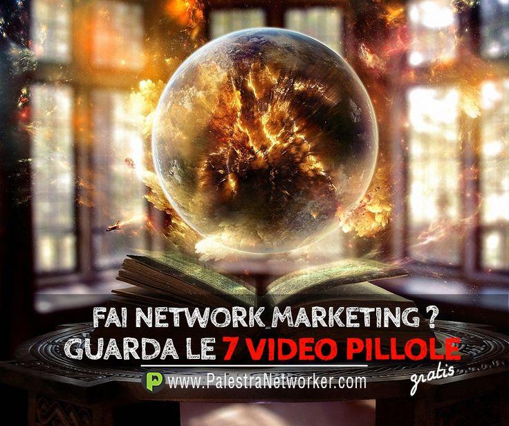 NON CONSULTARE LA SFERA DI CRISTALLO per trovare clienti e distributori .... 7 Video Pillole sul Network Marketing (GRATIS) GUARDA => http://www.palestranetworker.com . . .  #networker #networkers #networkmarketing #palestranetworker