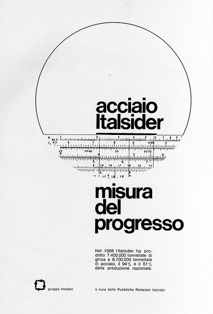1960s Advertising - Magazine Ad - Italsider (Italy)