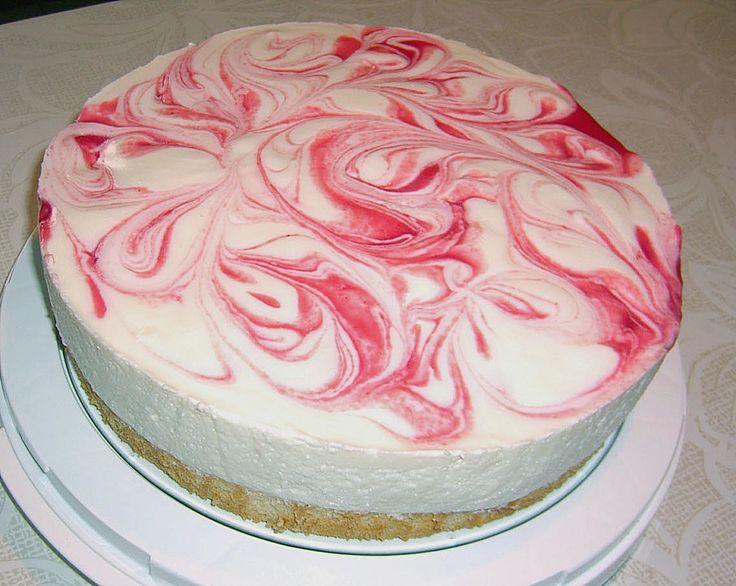 Geheime Rezepte: Marmorierte Kirsch - Joghurt - Torte