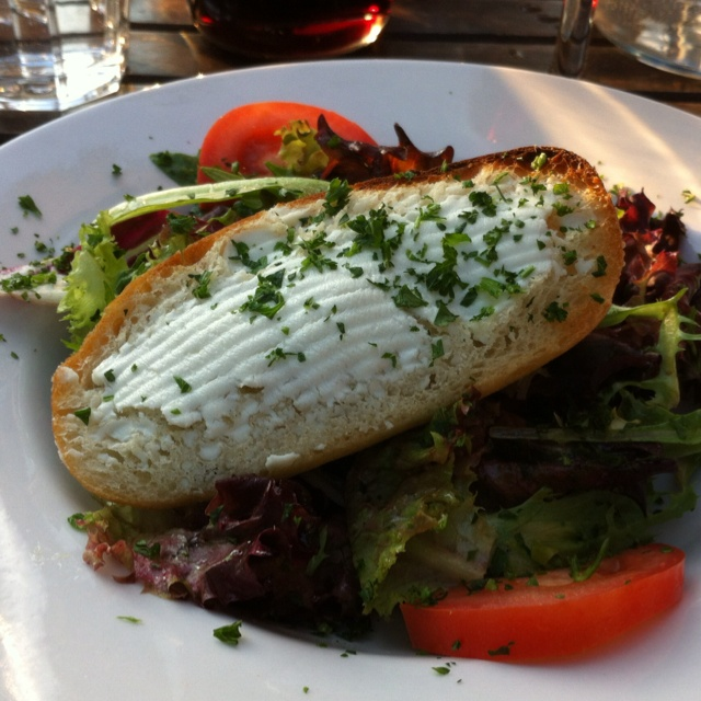 Goat cheese salad at Julian Bistro.