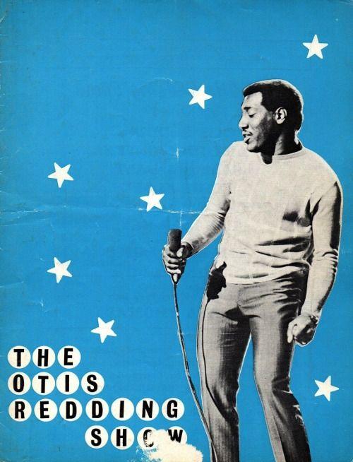 OTIS REDDING: gig poster