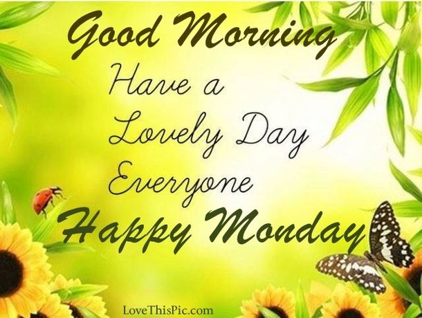 Good Morning Monday Quotes For Someone Special: 1000+ Ideas About Good Morning Monday Images On Pinterest
