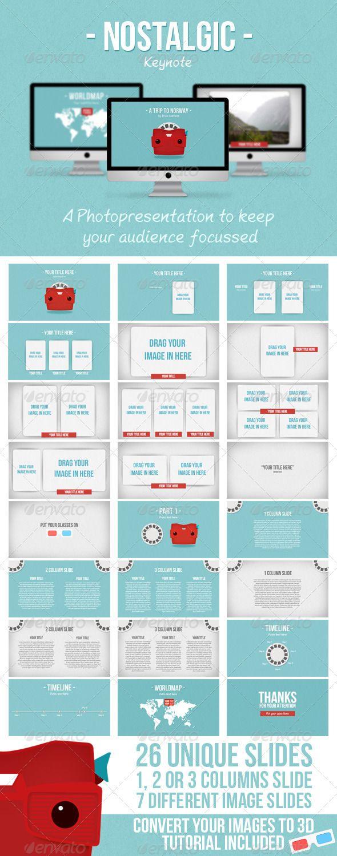 Nostalgic Keynote - GraphicRiver Item for Sale