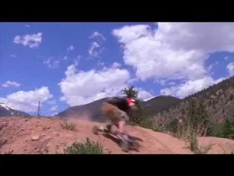 Mountain boarding in Empire, Colorado. Weeeeeeee.