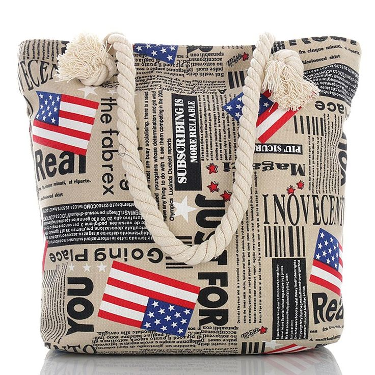 torba plażowa USA, beach bag at: SuperGalanteria.pl