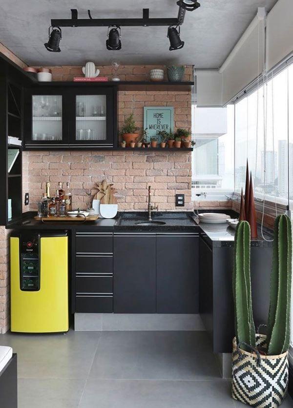 47 Cozinhas Com Armario Preto Modernas E Elegantes Decoracion