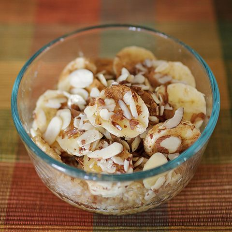 Baked Banana Almond Oatmeal - 21 Day Fix Approved