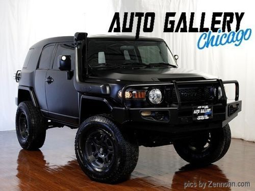 2007 Toyota FJ Cruiser 4WD - All Black, murdered out! | eBay