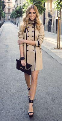 Classy coat http://www.luvtolook.net/2013/05/classy-coat.html the Italian way :)