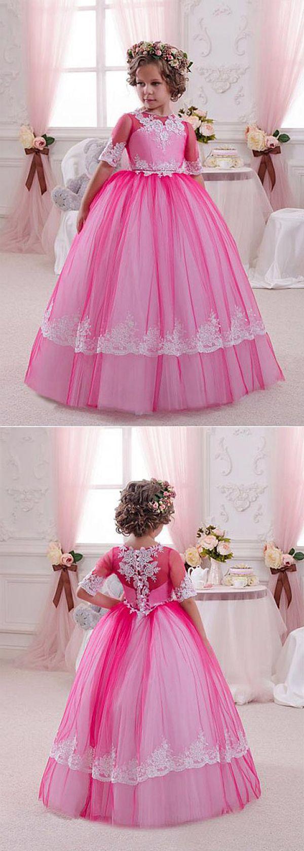 134 best Wedding Flower Girl Dresses images on Pinterest