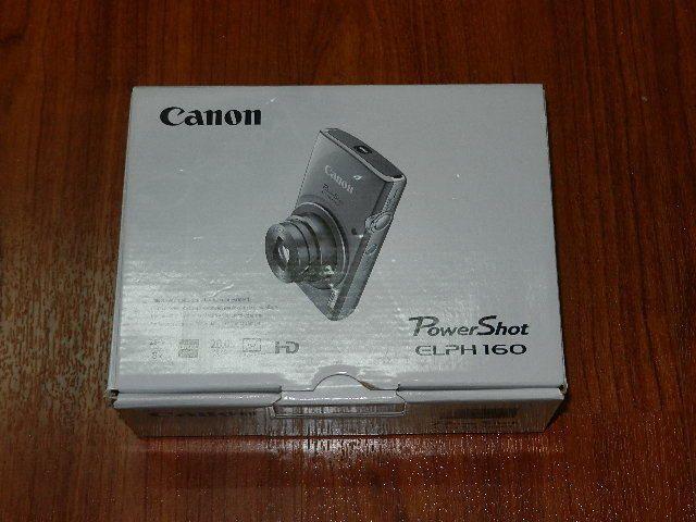 NEW in Box - Canon PowerShot ELPH 160 20.0MP Camera - SILVER - 013803252897 | Cameras & Photo, Digital Cameras | eBay!