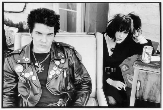 Darby Crash and Exene Cervenka