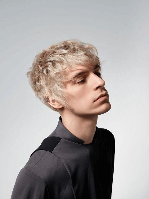 Frisuren Männer Glatte Haare