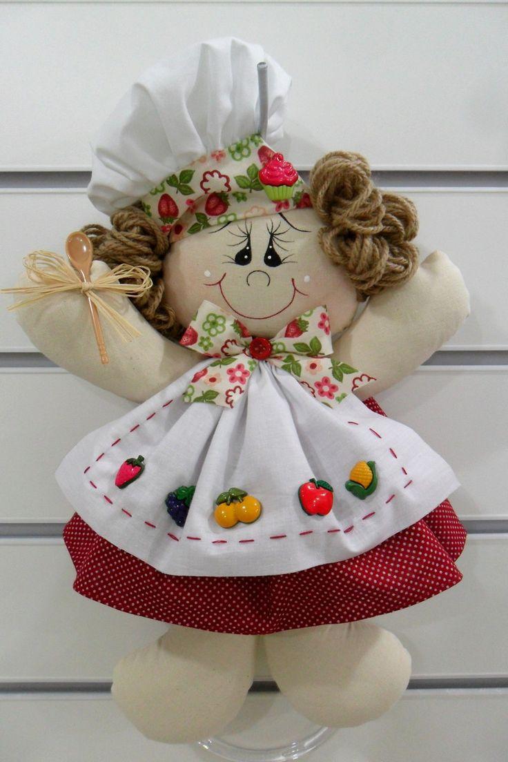 PORTA PANO DE PRATO -Produzido em tecido 100% algodão em padrão aleatório, conforme disponibilidade do mercado.