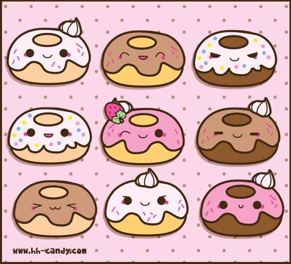 Cartoon Doughnut Factory: 20 Best Images About Donut Cartoons On Pinterest
