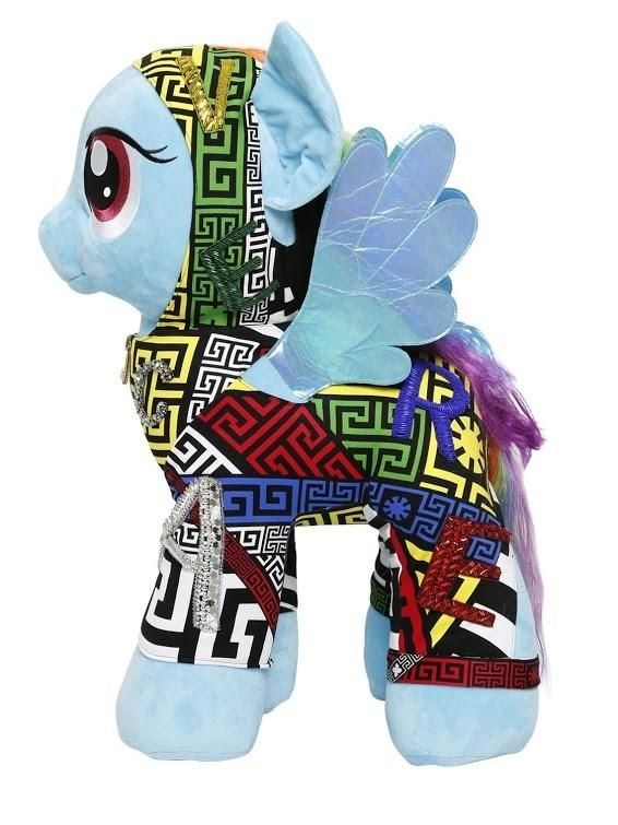 Extreme Make over de Versace para My Little Pony