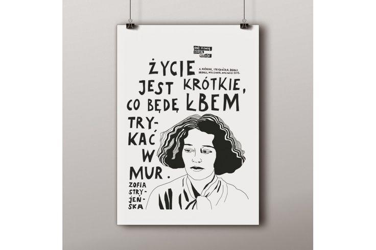 Plakat A2 z cytatem