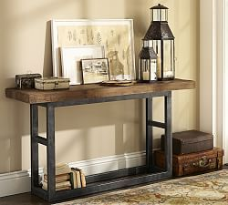 Griffin Reclaimed Wood Side Table | Pottery Barn