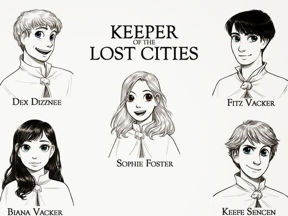 "Who are you in ""Keeper of the Lost Cities"" by Shannon Messenger?"
