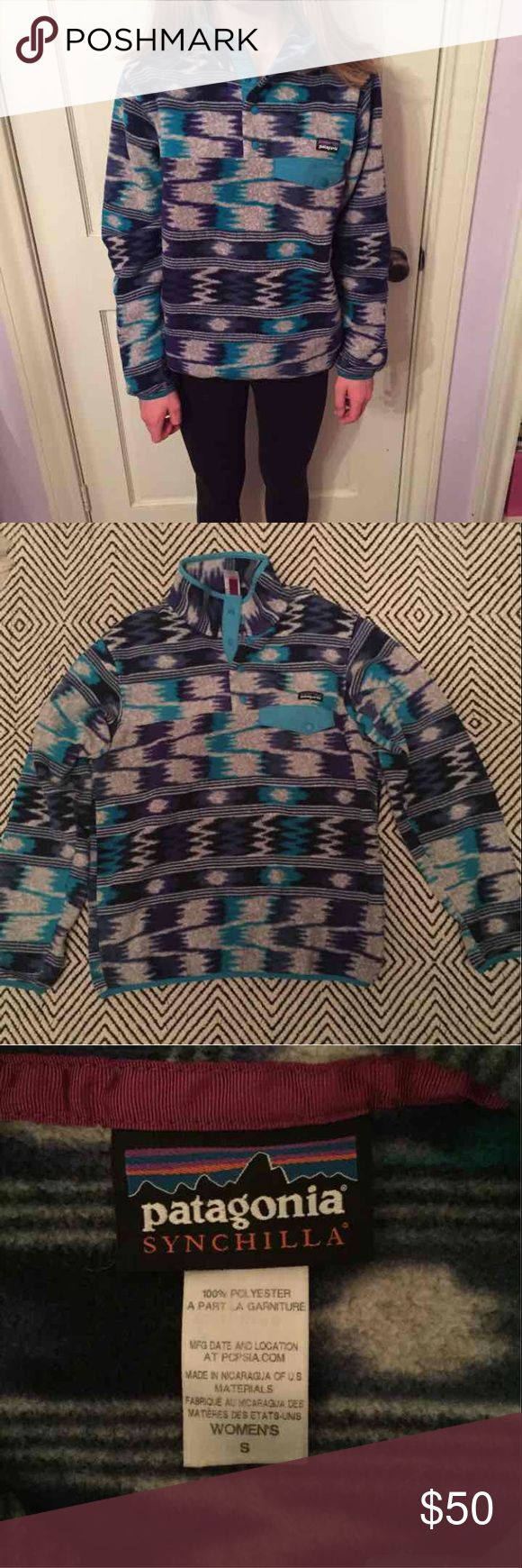 Patagonia synchilla jacket Lightly worn, in great condition, super comfy and soft!! Patagonia Jackets & Coats