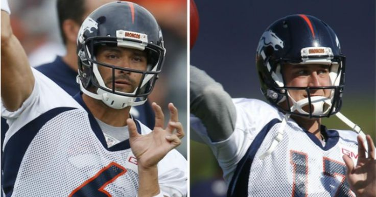 The Broncos QB Depth Chart Shows That The Struggle Will Be Real In Denver | 12up