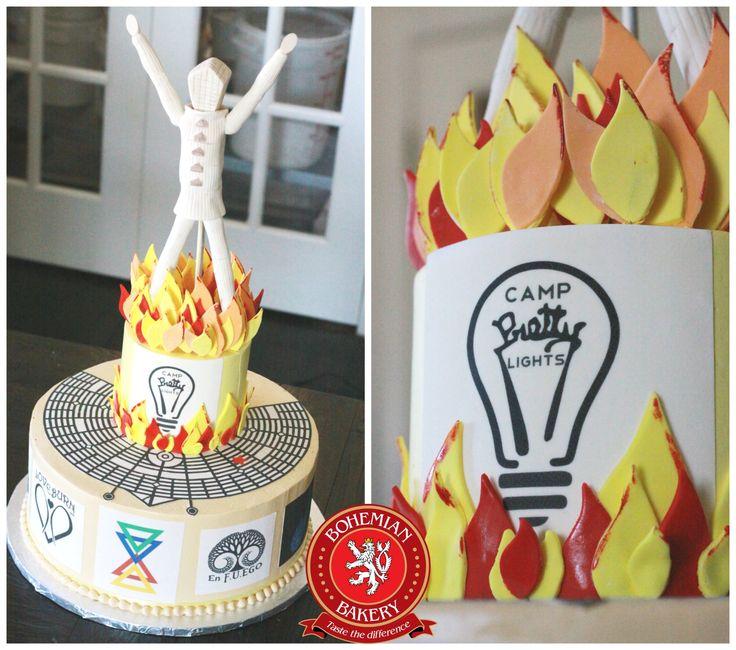 Burning Man Cake burningman BOHEMIAN BAKERY CAKES Pinterest