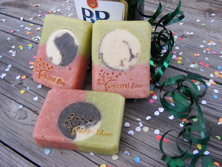 Rózsaszínagyagos- búzafűlés szappan