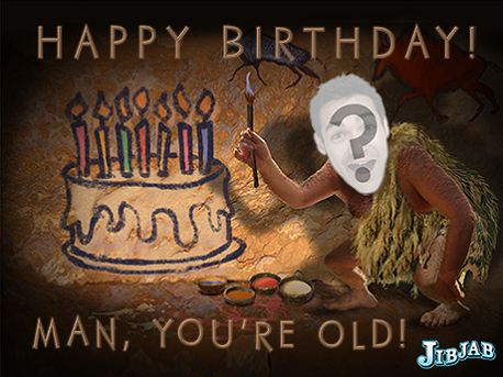 Happy Birthday Old Man Funny Image