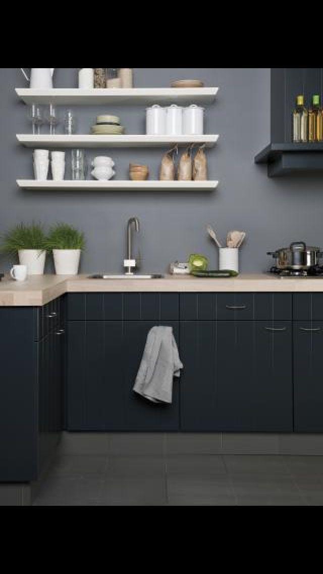 20 best images about keuken on pinterest work tops bar and kitchen dining - Idee deco keuken grijs ...