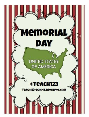 Memorial Day lessons, ABC order, fact and opinion, word band