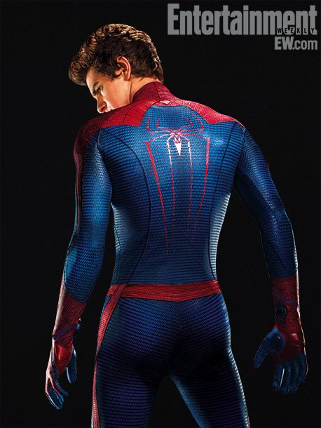 The Amazing Spider-Man, Andrew Garfield.. You know.. I saw an interview on YouTube and he said.. He said he was wearing nothing under..