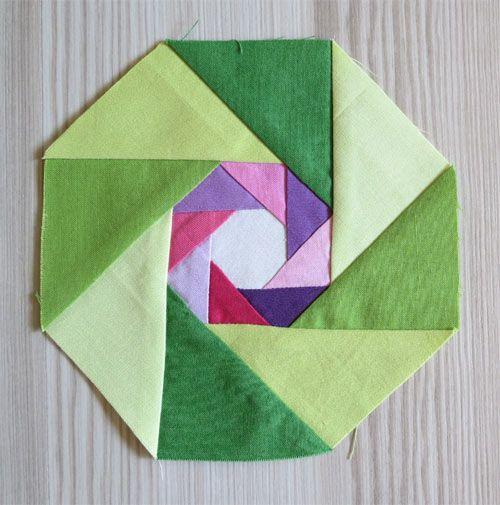 Octagon in octagon /Geta's Quilting Studio