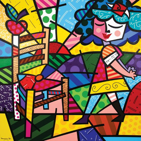 ''Summer Chair'' by Romero Britto