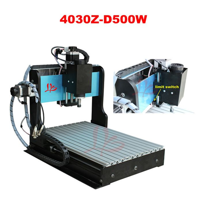 Free shipping! diy cnc router 3040Z-D500 cnc wood router 500W spindle power with limit switch cnc machine for sale #Affiliate