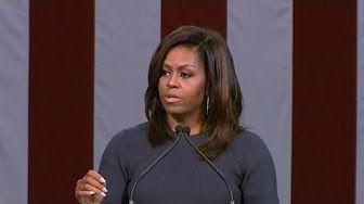 speech Michelle Obama in short against D.Trump