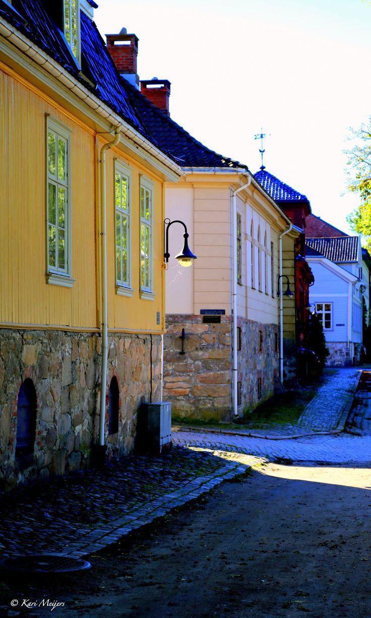 Gamlebyen i Fredrikstad, Norway  © Kari Meijers