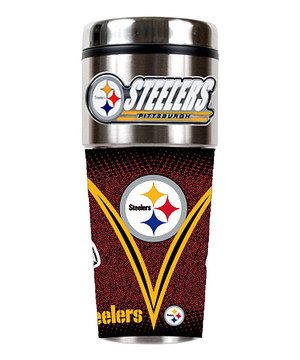 Pittsburgh Steelers Game Ball Travel Tumbler by Great American Products