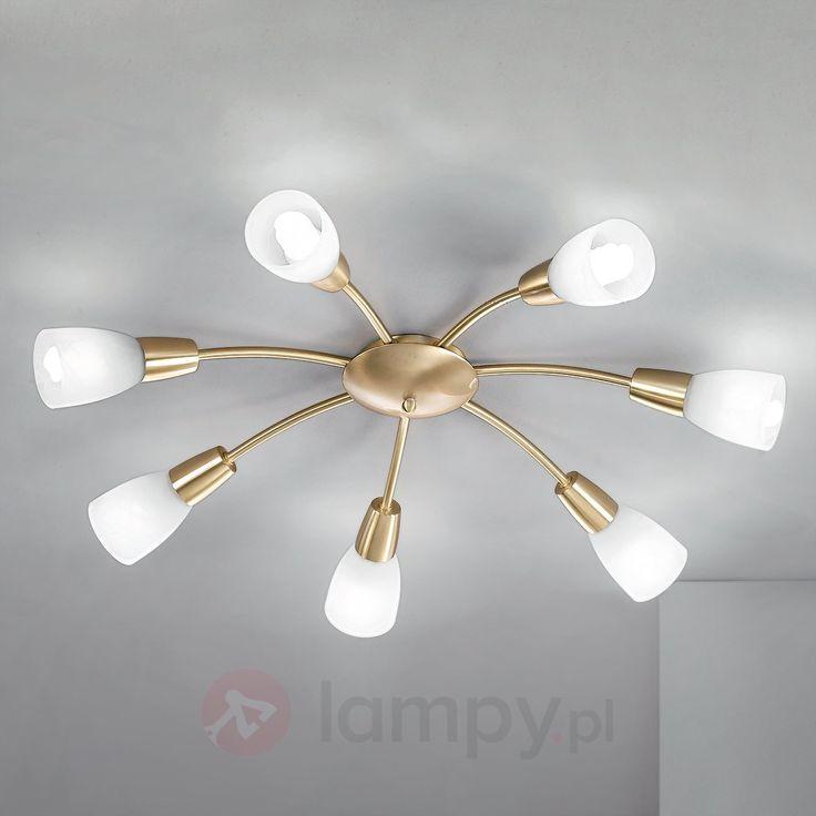 Lampa sufitowa w kolorze mosiądzu LORENA bezpieczne & wygodne zakupy w sklepie internetowym Lampy.pl.